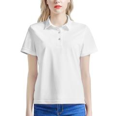 Women's All Over Print Polo Shirt